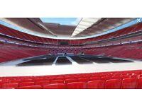2 Tickets - Anthony Joshua v Klitschko - Boxing - LOWER TIER Wembley Stadium Sat 29th April - £480