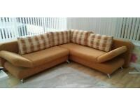 Corner sofa bed immaculate can deliver