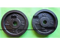 Set of two 4kg weights