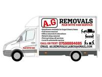 Man and van removal, house/flat removal, house clearance, junk rubbish collection, furniture dispos