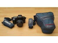 Canon EOS 1000F SLR (non Digital), Canon Lens and Hama Case