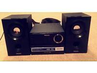 Philips mycrosystem speakers