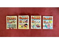 Beano comics from 1992 - 1995, 102 issues