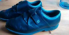 Footjoy AQL soft spike golf shoes- size 6