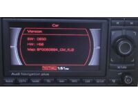 AUDI A4 NAVIGATION PLUS RNS-E WITH AUDI CD-CHANGER