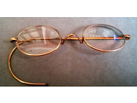 antique rolled gold spectacles