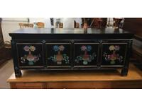 Chinese hand painted coffer