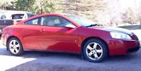 2006 Pontiac G6 GT Cert.& ETested. All ready for Winter