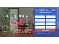 UK & EUROPE CHEAPEST MAN & VAN FROM £15PH SALES 10% OFF ONLINE BOOKING , INSTANT ONLINE QUOTE NSC