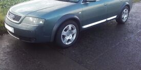 !! CLEARANCE !! Audi A6 Allroad C5 17'' Genuine ALLOY WHEELS & TYRES 225/55/17