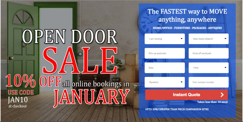 UK & EUROPE CHEAPEST & LARGEST MAN & VAN FROM £15-£50P/H, INSTANT ONLINE QUOTE IN 30 SECS! 24HR LBS