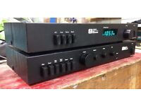 Vintage Creek CAS4040 Amplifier with Phono input, and matching CAS3040 FM tuner
