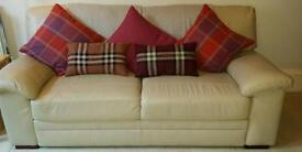 Piacenza 3 seater + single lounge with spare bases. Excellent condition. £145