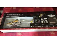 FG Flight,rc helicopter,with HD camera