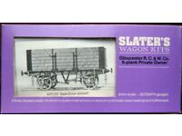 Slater's Wagon Kits 4P035/6 Gloucester 6-Plank P.O.