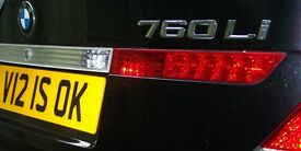 Great Number Plate for Sereph's, Wraith's, Ghost's, Phantom's, BMW's & Merc's Jags & Lambo's