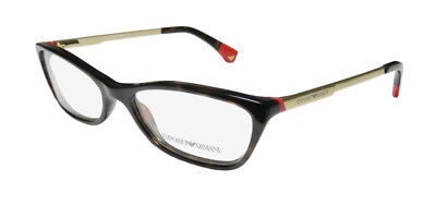 NEW EMPORIO ARMANI 3014 COLORFUL CLASSIC CAT EYES DESIGN EYEGLASS (Colored Eye Glasses)
