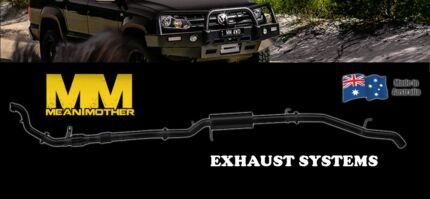 Mean Mother Stainless Steel 4x4 Exhaust Upgrades Fitted fr $1499