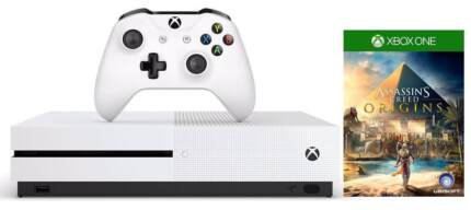 Xbox One S 500gb Console + Assassin's Creed Origins