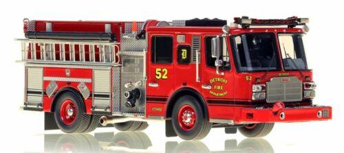 Detroit FD Ferrara Cinder Engine 52 1/50 Fire Replicas FR053-52 New