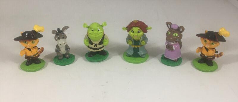 "2006 Dreamworks 6 2"" Shrek Mini Figures - Cake Top"