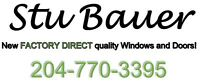 New FACTORY DIRECT quality windows and doors!!
