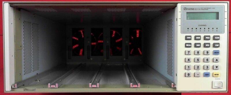 Chroma 6314 Electronic Load Mainframe