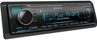 Kenwood KMM-BT322 Bluetooth, Digital Media Car Stereo  (NO CD) + REMOTE CONTROL