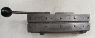Hardinge Lever Operated Double Tool Cross Slide Possibly Model E
