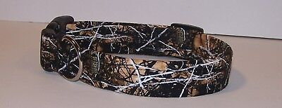 Wet Nose Designs Outshine Camouflage Dog Collar Lifestyle Camo Brown Tan Black Camouflage Dog Collar Collars
