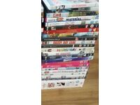 Selection of DVDs - £1 each