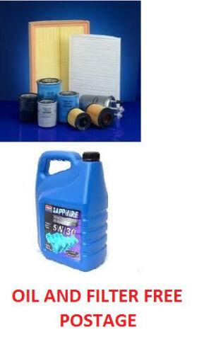 Lexus IS200 2.0 16V Oil filter + 5Ltr Synthetic 5w30 Oil 1999-2005