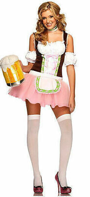 Leg Avenue 83656 NEW 3pc. Beer Garden Halloween Women's Costume SZ SM Cosplay Leg Avenue Garden