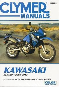 2008-2017 Kawasaki KLR650 Repair Service Shop Workshop Manual M2402