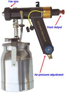 HVLP - Lex-Aire Spray Gun - Mint Condition