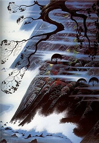 "Eyvind Earle     ""fog Light""    Make  Offer    Dss"