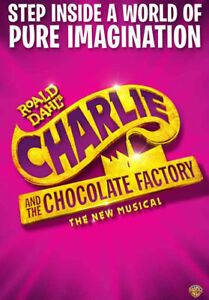 Charlie and the Chocolate Factory - 4 Tickets Row D