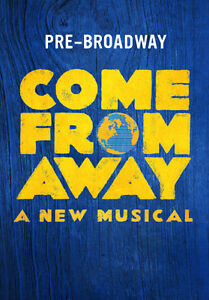 Come From Away the Musical Tickets