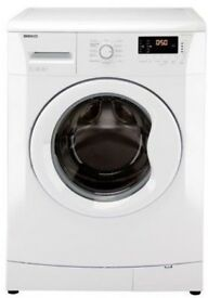White Beko washing machine WM74155LW