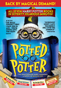 POTTED POTTER TICKETS - JULY 22 @ 2PM