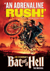 """2x Tickets for """"Bat out of Hell The Musical"""" at Mirvish in T.O"""