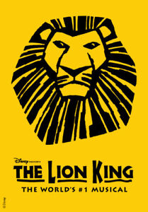 The Lion King tickets! June 2019 in Toronto 416-398-2414 ext. 0