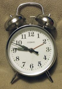 Cosmo wind up clock