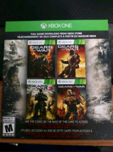 WOW! GEARS OF WAR 4 game bundle!! - xbox one