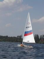 Bombardier invitation racing sailboat dinghy