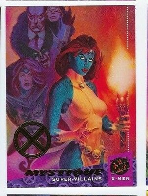 2018 Fleer Ultra X-men 1994 buyback 62 Mystique 18/50