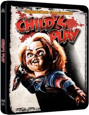 Child's Play Limited Edition Blu-ray Steelbook Perfect For Halloween! FREE P+P!