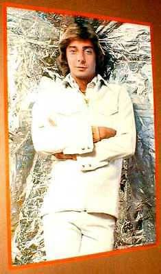 BARRY MANILOW 1977 Original Poster near MINT