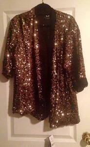 Sequin blazer from Titika, tags still attached!