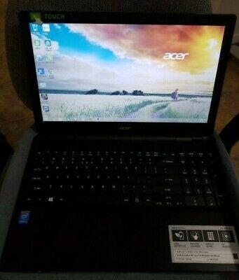"Acer Aspire E5-571P-36LU 15.6"" Touchscreen Notebook Computer, Intel Core i3-4..."